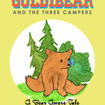 Book Cover Design: Goldibear and the Three Campers