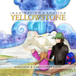 Book Cover Design:  Imagination Vacation Yellowstone