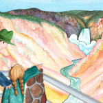 Illustration and book design: Imagination Vacation Yellowstone