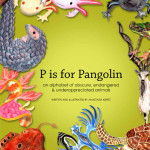Book Cover Design:  P is for Pangolin